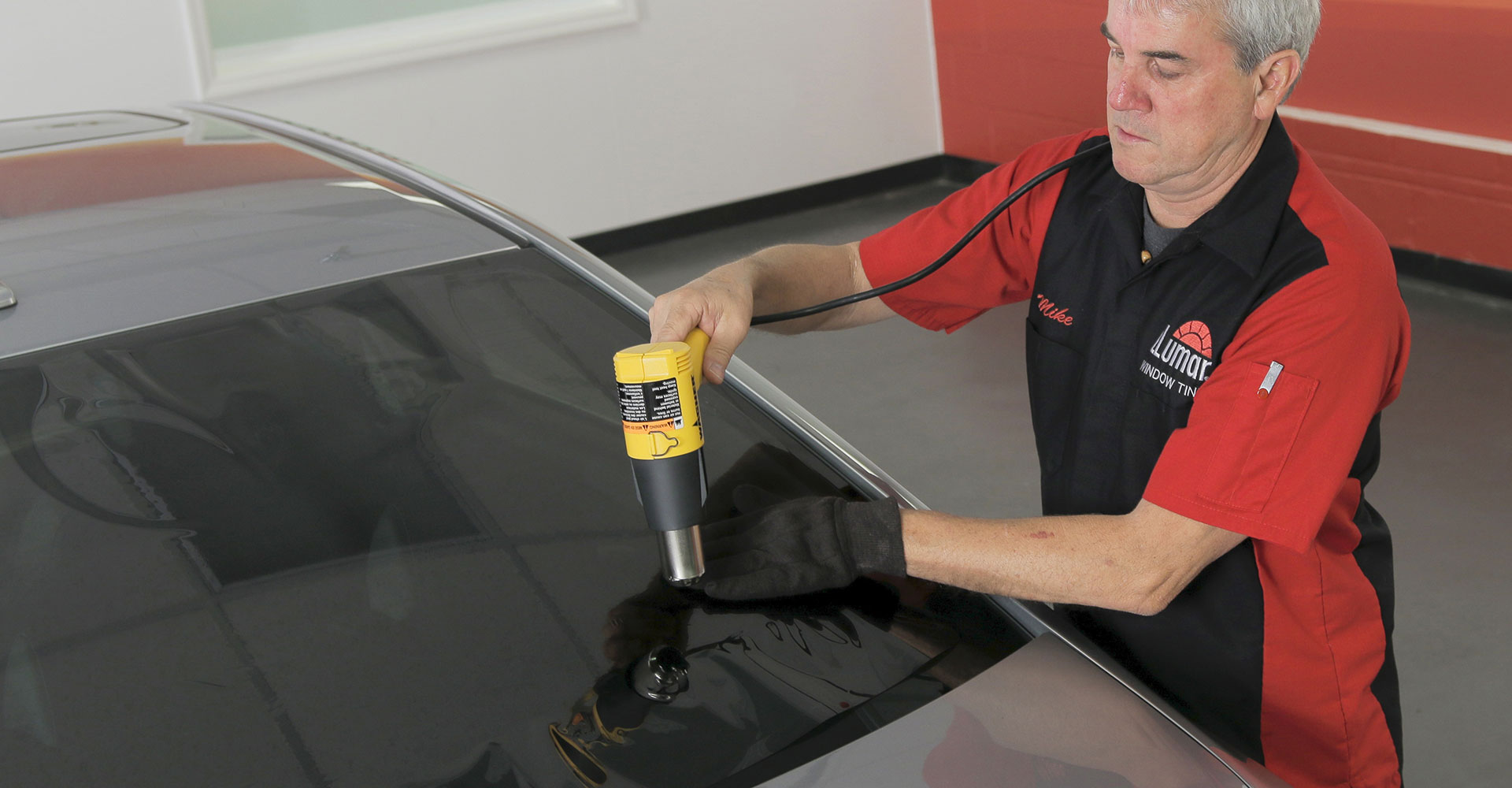 Professional window tinting service in Dorset